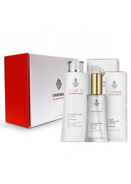 Hair Protection System Shampoo and Hair Protection System Serum, packed in an exclusive gift box